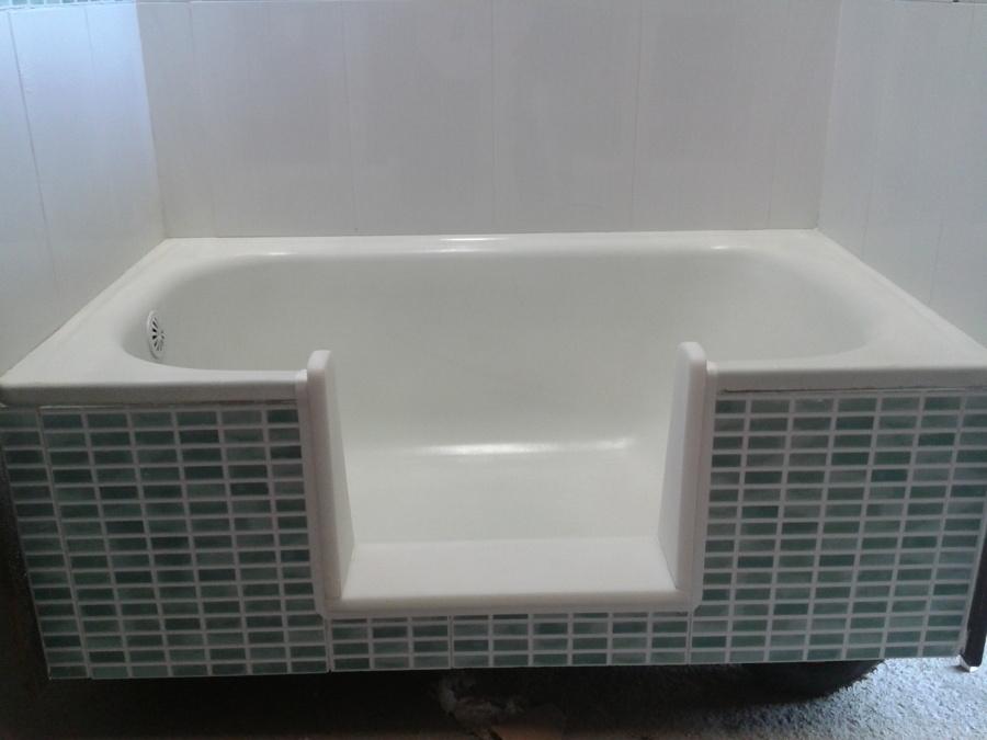 Corte de bañera – Enlozado de Bañeras a domicilio